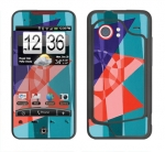 HTC Droid Incredible Skin :: Geometric Blast