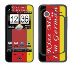 HTC Droid Incredible Skin :: Kiss Me German