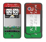 HTC Droid Incredible Skin :: Kiss Me Italian