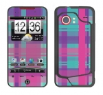 HTC Droid Incredible Skin :: Candy Shop Plaid
