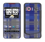 HTC Droid Incredible Skin :: Oceans Deep Plaid