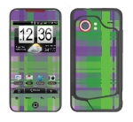 HTC Droid Incredible Skin :: Punk Rock Plaid