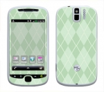 HTC myTouch 3G Slide Skin :: Argyle Green