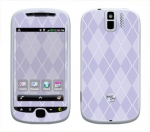 HTC myTouch 3G Slide Skin :: Argyle Purple
