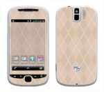 HTC myTouch 3G Slide Skin :: Argyle Tan