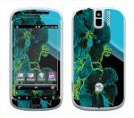 HTC myTouch 3G Slide Skin :: Cosmic Flowers 2