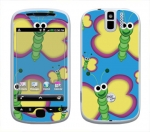 HTC myTouch 3G Slide Skin :: Digital Butterfly
