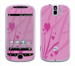 HTC myTouch 3G Slide Skin :: Floating Hearts