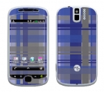 HTC myTouch 3G Slide Skin :: Oceans Deep Plaid