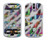 HTC myTouch 3G Slide Skin :: Shredded Circuit