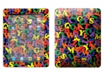 Apple iPad Skin :: Alphabet Soup