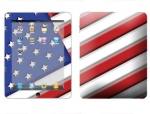 Apple iPad Skin :: American Flag 1