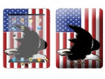Apple iPad Skin :: American Flag 2