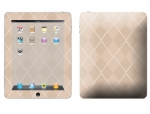 Apple iPad Skin :: Argyle Tan