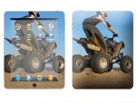 Apple iPad Skin :: ATV Rider
