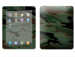 Apple iPad Skin :: Camo Green