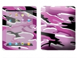 Apple iPad Skin :: Camo Pink