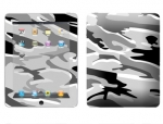 Apple iPad Skin :: Camo Snow