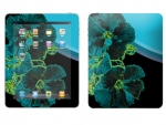 Apple iPad Skin :: Cosmic Flowers 2