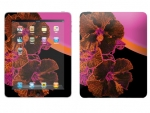 Apple iPad Skin :: Cosmic Flowers 3