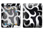 Apple iPad Skin :: Curly Contours