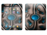 Apple iPad Skin :: Cynic Blue