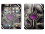 Apple iPad Skin :: Cynic Purple