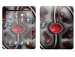 Apple iPad Skin :: Cynic Red