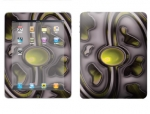 Apple iPad Skin :: Cynic Yellow