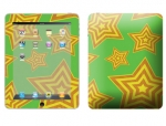 Apple iPad Skin :: Falling Stars