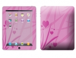 Apple iPad Skin :: Floating Hearts