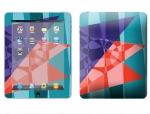 Apple iPad Skin :: Geometric Blast