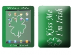 Apple iPad Skin :: Kiss Me Irish