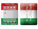 Apple iPad Skin :: Kiss Me Italian