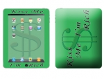 Apple iPad Skin :: Kiss Me Rich