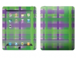 Apple iPad Skin :: Punk Rock Plaid