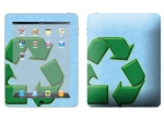 Apple iPad Skin :: Recycle