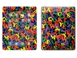 Apple iPad 2 Skin :: Alphabet Soup