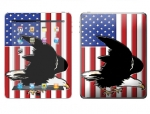 Apple iPad 2 Skin :: American Flag 2