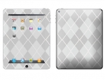 Apple iPad 2 Skin :: Argyle Gray