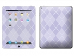 Apple iPad 2 Skin :: Argyle Purple