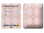 Apple iPad 2 Skin :: Argyle Red