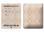 Apple iPad 2 Skin :: Argyle Tan