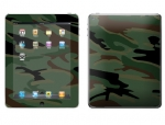 Apple iPad 2 Skin :: Camo Green