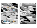 Apple iPad 2 Skin :: Camo Snow