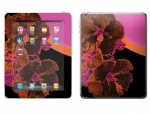 Apple iPad 2 Skin :: Cosmic Flowers 3