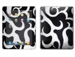 Apple iPad 2 Skin :: Curly Contours