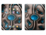 Apple iPad 2 Skin :: Cynic Blue