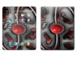 Apple iPad 2 Skin :: Cynic Red
