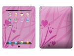 Apple iPad 2 Skin :: Floating Hearts